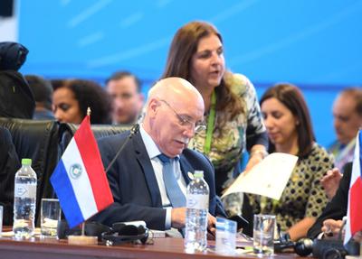 Paraguay presente en Cumbre de Cancilleres en Bélgica
