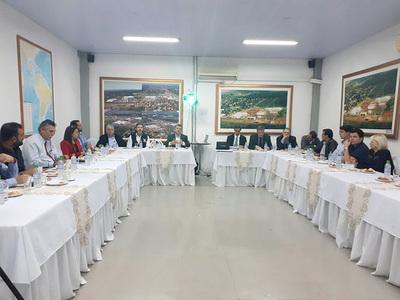 Inversionistas extranjeros destacan potencial del Alto Paraná como productor de alimentos