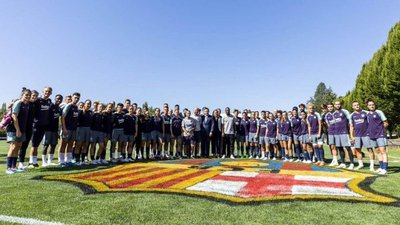 Polémica en gira del Barça