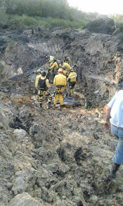 Rescatan cuerpo de buscador de plata yvyguy