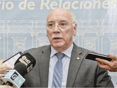 Loizaga cree que deja un Paraguay reinsertado internacionalmente