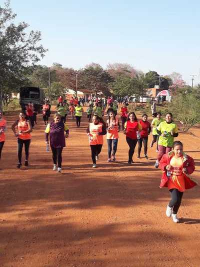 Caminata para combatir la obesidad