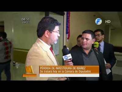 Hoy tratan perdida de investidura de Ibáñez