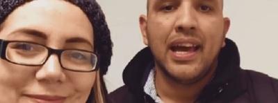 Cristián El Rastas Recibió El Apoyo De Sus Colegas Clara Franco Y Gustavo Corvalan