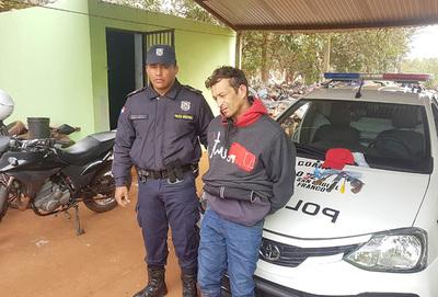 Cae peligroso bandido con capturas pendientes y fugado de la cárcel