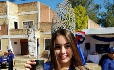 Candidata a Miss Paraguay hace campaña solidaria a favor de los bomberos