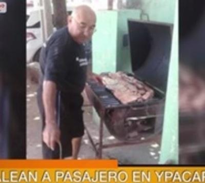 Bala perdida mata a pasajero de bus en Ypacaraí
