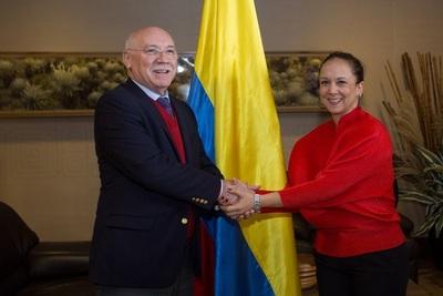 Loizaga llega a Colombia para el traspaso de mando de Iván Duque