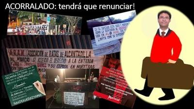 A 6 DÍAS DEL BLANQUEO, la presión ciudadana deja sin salidas a Ibáñez: TENDRÁ RENUNCIAR