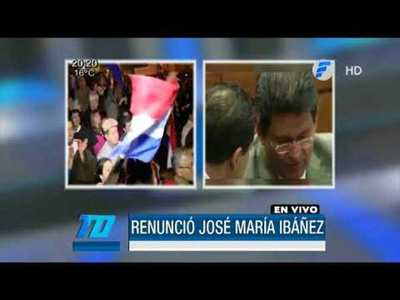 Renunció José María Ibáñez tras presión de la ciudadanía