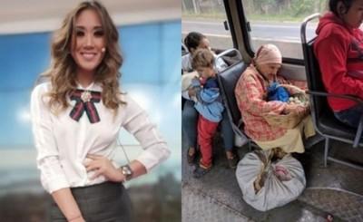 """La Emoción  De Yolanda Park Al Compartir Junto A Ña Delfina """"la Abuelita Viral"""""""