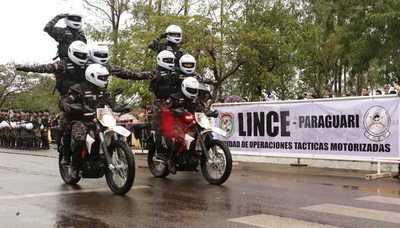 Grupo Lince se instala en Paraguarí para disminuir los hechos delictivos en la vía pública