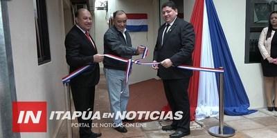 INAUGURAN OBRAS EN EN EL HOSPITAL DÍA DE LA FUNDACIÓN LAZOS DEL SUR.