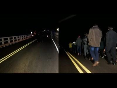 EXIGEN ILUMINACIÓN EN TRAMO DEL PUENTE ARROYO PORA