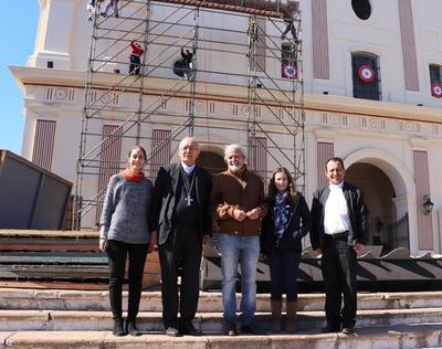 Retablo de Chiquitunga será expuesto frente a la Catedral