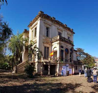 Embajada española en Paraguay se muda al Palacete Peris