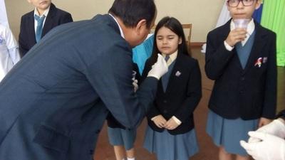 Campaña Nacional de Desparasitación prevé llegar a unos 53.600 escolares de Asunción