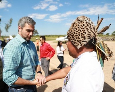 Antes de asumir, Marito promete dignificar a indígenas