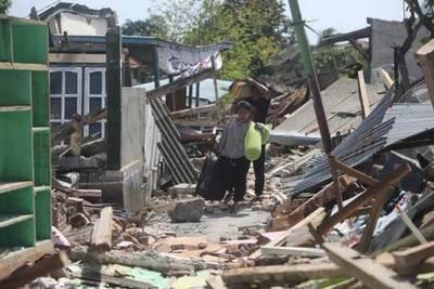 Indonesia eleva a 321 el número de muertos por el seísmo en isla de Lombok