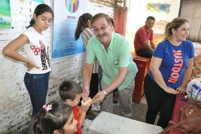 Miembros del Rotary Club entregarán donaciones