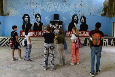 El ashram de los Beatles en India, de retiro espiritual a atracción turística