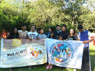 Encuentro de niños y adolescentes trabajadores de Latinoamérica