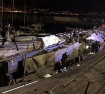 Derrumbe en concierto deja más de 300 heridos en España