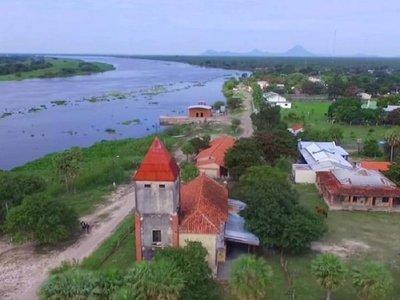 Puerto Guaraní: La iglesia del pueblo es una reliquia que aún persiste con el paso del tiempo