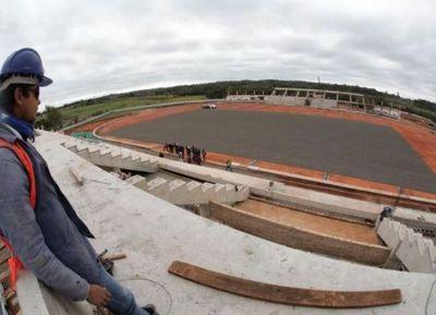 Proyectan inaugurar en marzo de 2019 el nuevo estadio de la Liga Encarnacena construido con fondos de la EBY