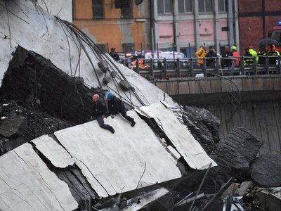El derrumbe del puente de Italia es uno de los más graves de Europa