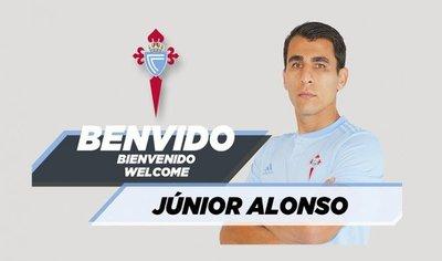 Junior Alonso, nuevo jugador del Celta