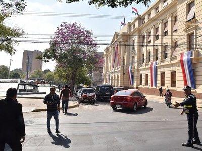 Estas son las calles que serán bloqueadas el día del traspaso presidencial