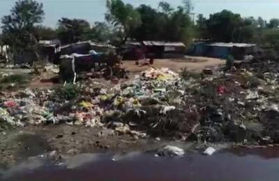 Grave contaminación en el Mburicao