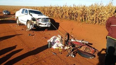 Hermanas mueren tras accidente de tránsito en Alto Paraná