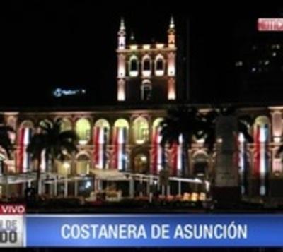 La gente podrá llegar hasta el litoral del Palacio de López caminando