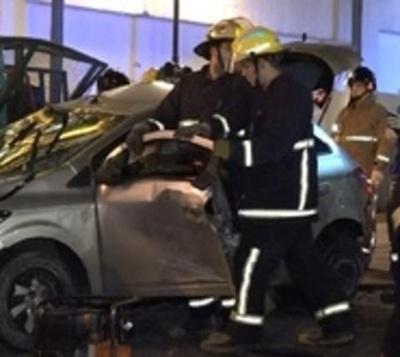 Imprudencia al volante dejó dos personas con heridas de gravedad