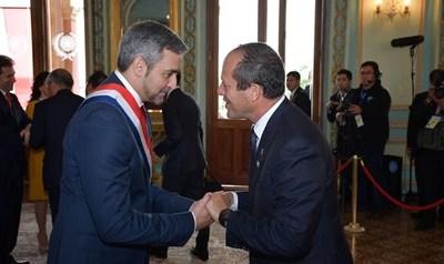 Intendente de Jerusalén invita al presidente Abdo a visitar su ciudad