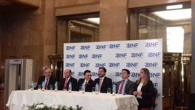"""""""Implacable con la corrupción"""", dice nuevo titular del BNF"""