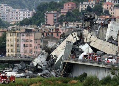 Caída de un puente dejó más de 35 muertos y daños irreparables en Italia