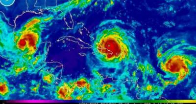 Los expertos en huracanes nunca han visto una imagen como esta