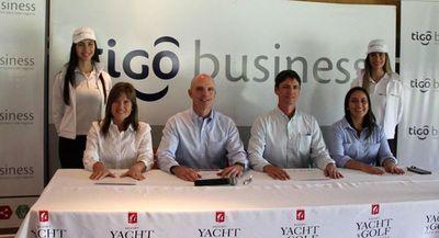 El Yacht puso en marcha la Copa Tigo de golf