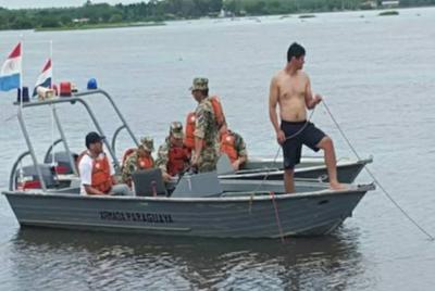 Siguen con la búsqueda de los dos desaparecidos en Yabebyry