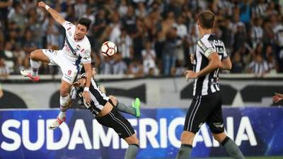 Copa Sudamericana: Botafogo remonta y elimina a Nacional