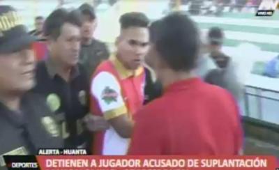 HOY / Otra de la Copa Perú: detienen a futbolista a mitad de un partido