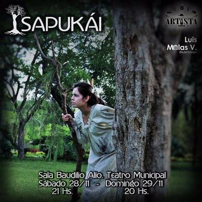 Los mitos se reunen este fin de semana en el teatro municipal con Sapukái.