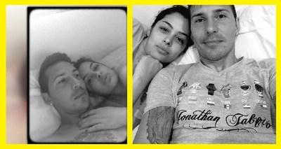 Escándalo! Viralizan foto de Larissa Riquelme chupando el testículo de Fabbro?