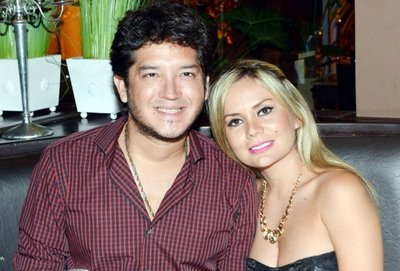 Dahiana Bresanovich y Junior Rodríguez, finalmente se separaron