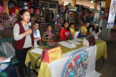 Niños trabajadores se congregan en seminario internacional