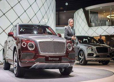 Bentley Bentayga, el SUV de lujo