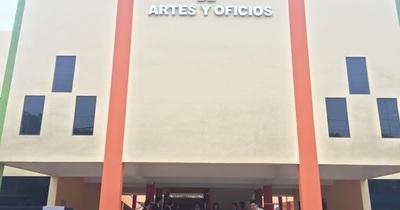 Escuela de artes y oficios de Minga Guazú será inaugurada este fin de mes